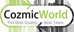 CozmicWorld.com logo