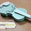 コスプレの小物バイオリン