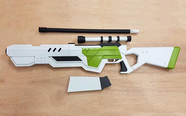 セブンナイツ コスプレ武器 銃 製作