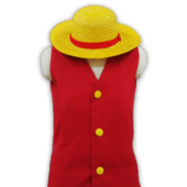 ONE PIECE モンキー.D.ルフィ コスプレ衣装