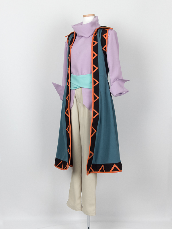 劇場版遊☆戯☆王 THE DARK SIDE OF DIMENSIONS THE DARK SIDE OF DIMENSIONS 藍神 コスプレ衣装