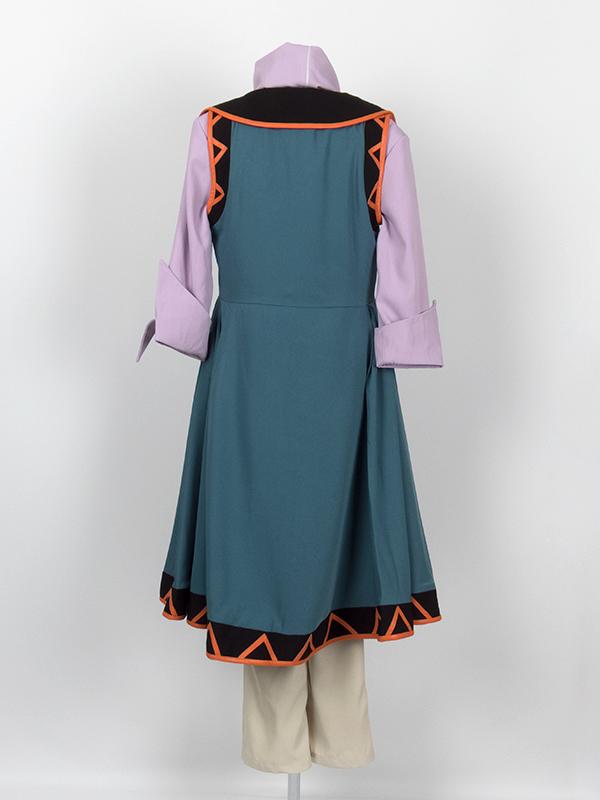 劇場版遊☆戯☆王  THE DARK SIDE OF DIMENSIONS 藍神 コスプレ衣装