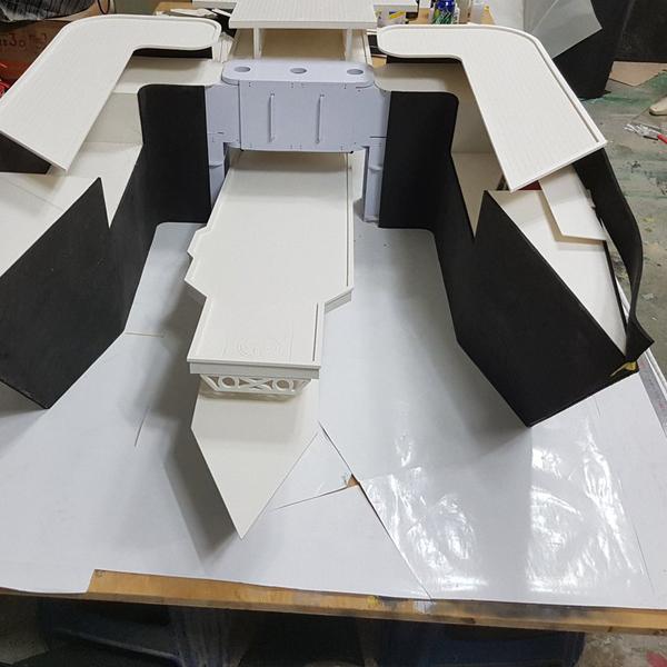 艦これ グラーフ・ツェッペリン 製作