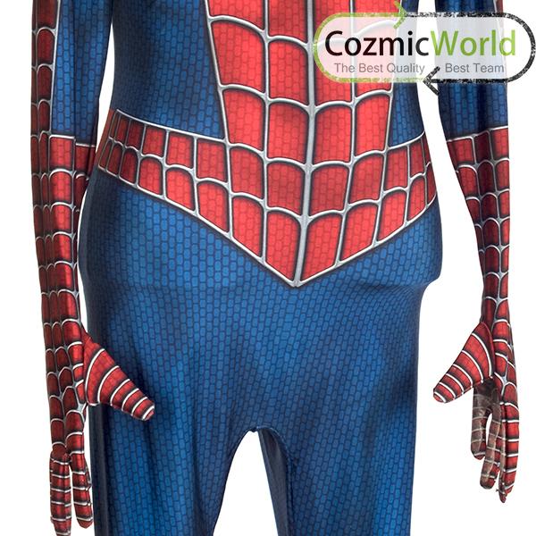 スパイダーマン スーツ 素材