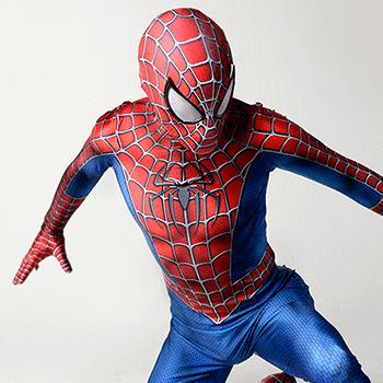 スパイダーマン スーツ コスプレ