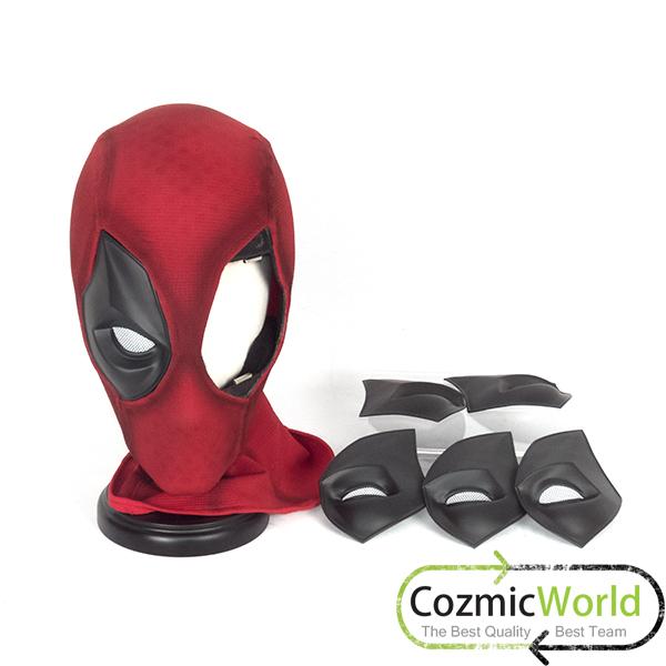 デッドプール マスク 製作 素材