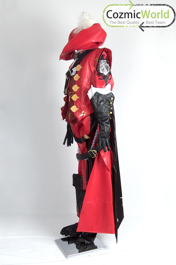 FINAL FANTASY XIV 赤魔道士アーティファクト コスプレ衣装