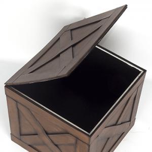 木の箱 カゴ コスプレ道具