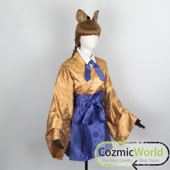 けものフレンズ ヒッパリオン コスプレ衣装 和服 オーダーメイド製作
