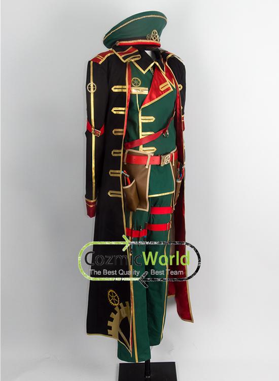 魔法使いと黒猫のウィズ ヴィラム コスプレ衣装 製作