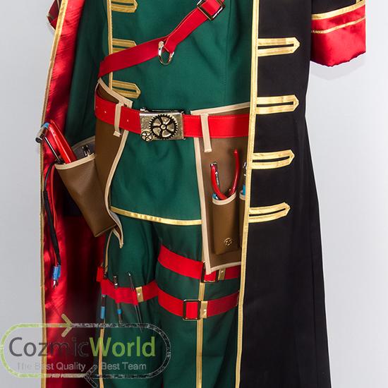 魔法使いと黒猫のウィズ ヴィラム 制服 コスプレ衣装 製作