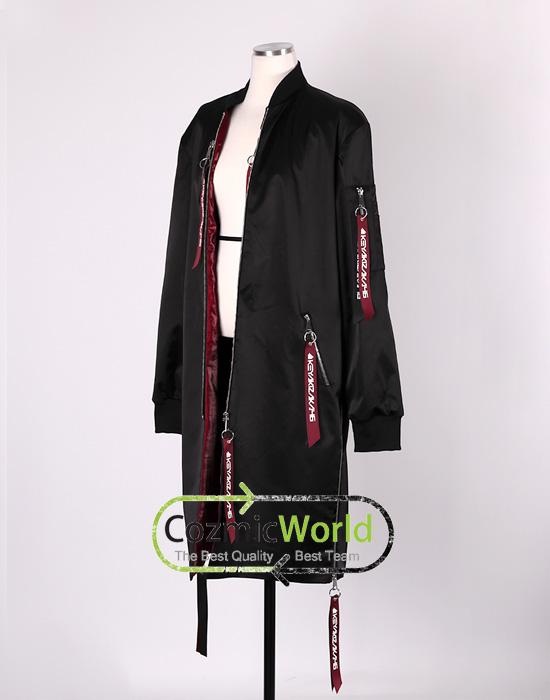 ガラスを割れ! 欅坂46 MA-1 フライトジャケット コスプレ衣装