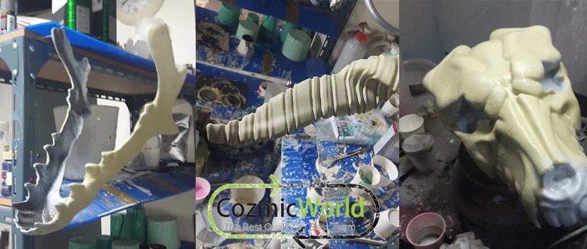 コスプレ造形物塗装