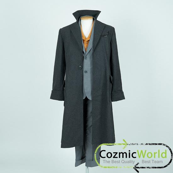 ファンタスティック・ビーストと黒い魔法使いの誕生 ニュート・スキャマンダー コスプレ衣装
