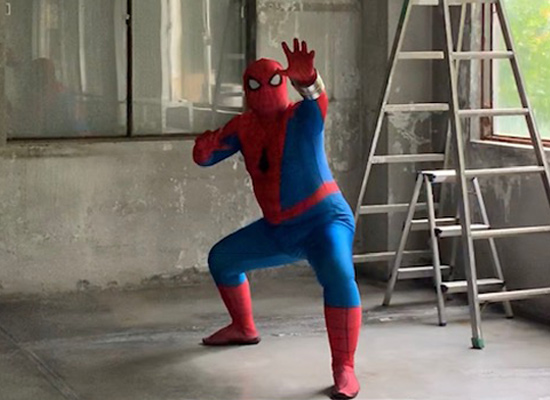 SPIDER-MAN スパイダーブレスレット オーダーメイド 小道具・造形制作