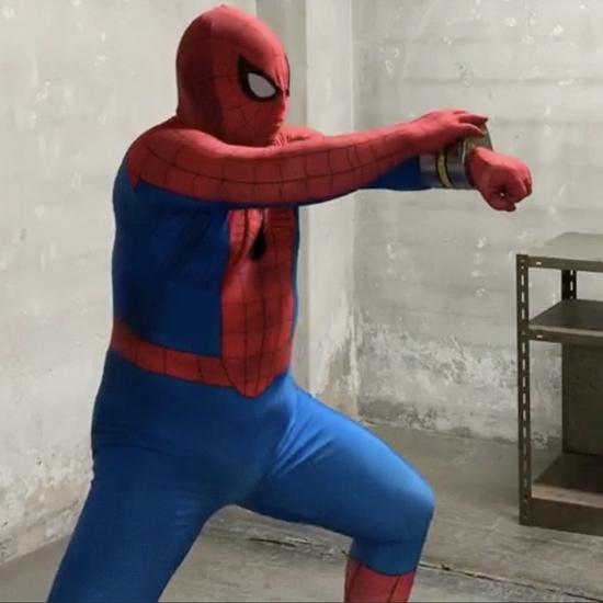 スパイダーマン スパイダーブレスレット 小道具・造形制作