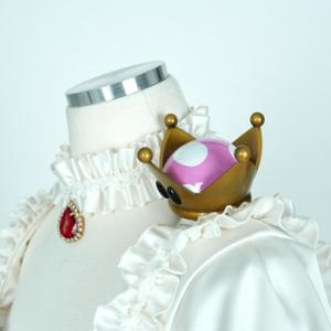 マリオ キングテレサ姫 ピーチクラウン コスプレ衣装 オーダーメイド