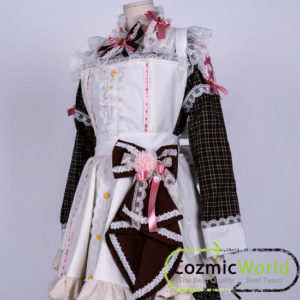 高森愛子 アイドルマスター 仮装 メイド衣装 コスプレ衣装