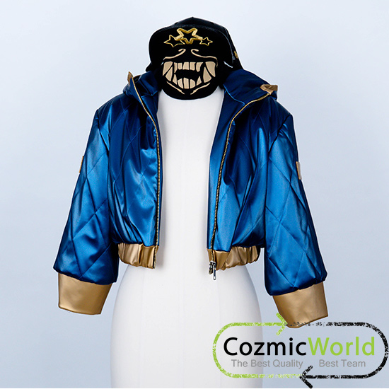 LOL コスプレ COZMICWORLD オーダーメイド リーグ・オブ・レジェンド アカリ コスプレ衣装
