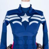 コズミックワールドコスプレオーダーメイド スプレ通販 マーベル 映画 キャプテン・アメリカ コスプレ衣装 オーダーメイド スーツ