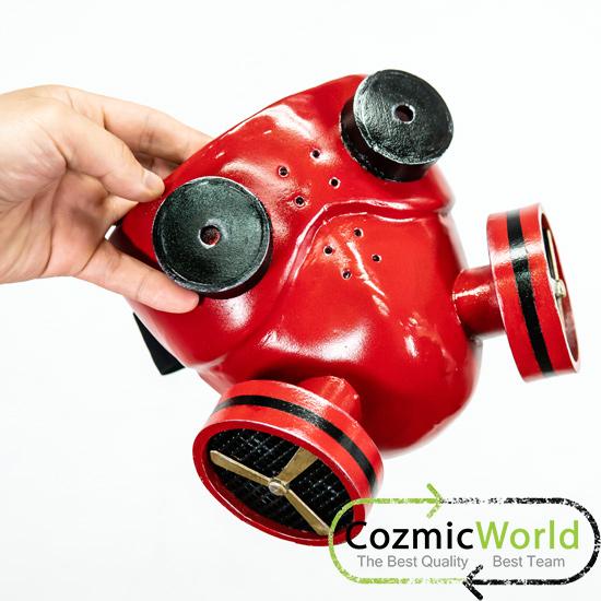 ボーカロイド カイト ガスマスク、ヘッドフォン コスプレ造形物