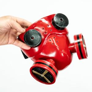 ボーカロイド カイト ガスマスク、ヘッドフォン コスプレ小道具 オーダーメイド