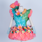 ディズニー cozmicworld Easter Parade ヒッピティ・ホッピティ・スプリングタイム ダンサー ドレス