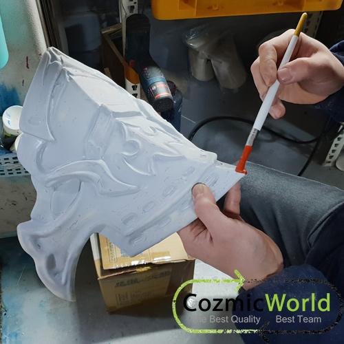 下塗り 過程 武器 製作 COZMICWORLD.COM イベント