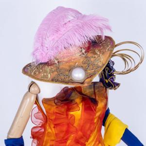 ファッショナブルイースター グローリア・デ・モード コスプレ衣装 帽子 レイヤー 小物 衣装