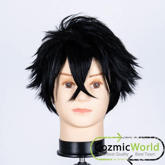 コスプレ アニメ テニスの王子様 財前光 ウィッグ 黒髪