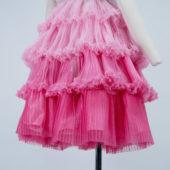 コスプレ製作 オーダーメイド製作 ドレス製作 ディズニーシー フリルドレス