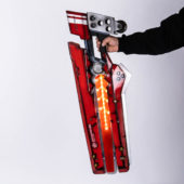 CozmicWorld オーダーメイド製作 GUILTY GEAR Xrd REV2 ギルティギア キャラクター JUNK-YARD DOG コスプレ武器