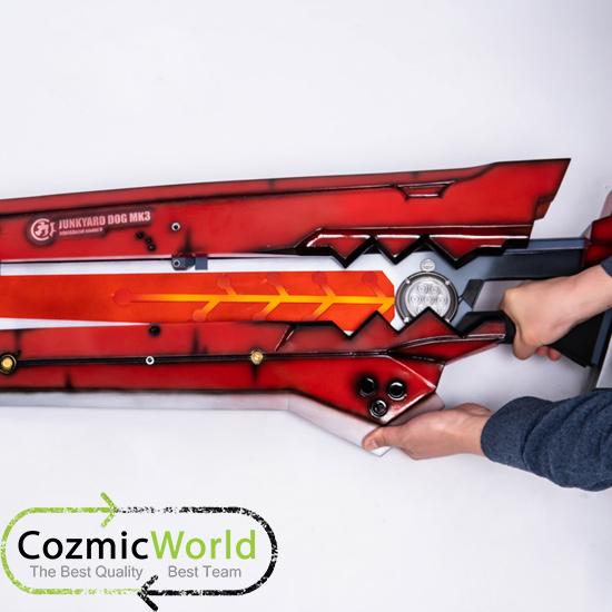 ギルティギアー ジャンクヤードドッグ 武器 cozmicworld オーダーメイド製作