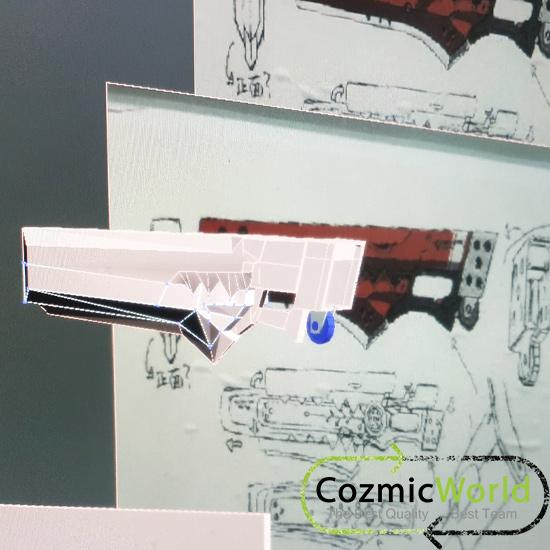 図面 武器製作 GUILTY GEAR Xrd REV2 ギルティギア キャラクター JUNK-YARD DOG コスプレ武器 オーダーオーダーメイド製作