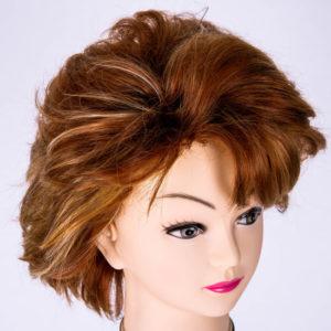 山野愛子ジェーンコスプレウィッグ ブラウン髪色 ウィッグ製作 CozmicWorld ウィッグ おすすめ