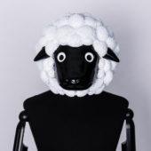 コスプレ小道具 羊 フルフェイスマスク