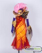 DISNEY ファッショナブルイースター ドレス 製作 コスプレ衣装