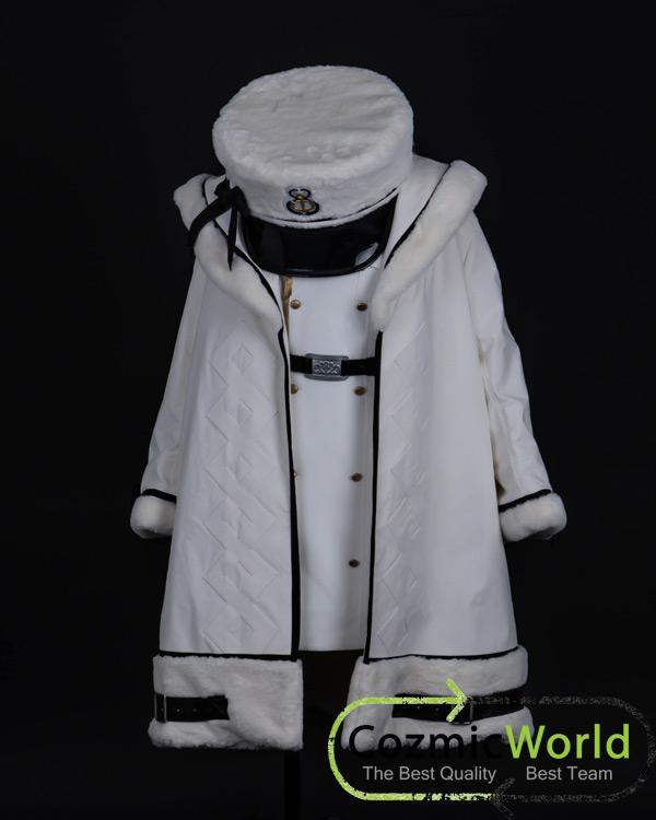CPZ8アズールレーン パーミャチ・メルクーリヤ コスプレ衣装 オーダーメイド9-1